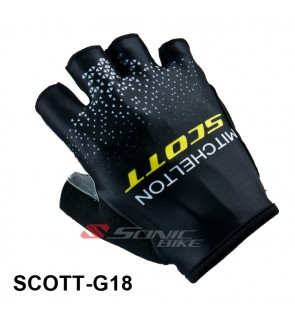 SCOTT Team Design Cycling / Fitness Half Finger Padded Glove - SCOTT18