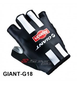 GIANT Team Design Cycling / Fitness Half Finger Padded Glove - GNT18