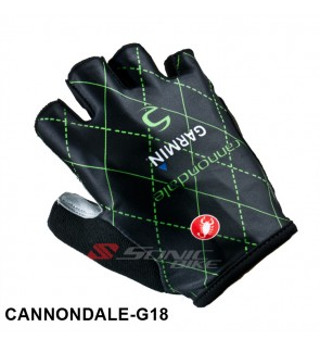 CANNONDALE Team Design Cycling / Fitness Half Finger Padded Glove - CANNONDALE18