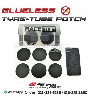 Bicycle Tyre-Tube Puncture Repair Kit Patch Glueless - PATCH