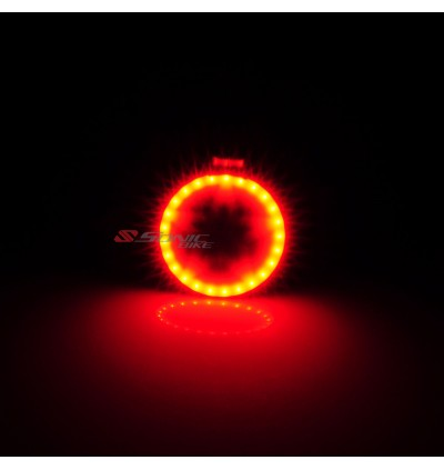 RING LED Bicycle Blinker / Rear Light - Brighten up to 24 hours, RING / STAR LED