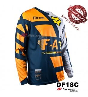 FOX MTB Downhill Cycling Jersey / Motocross - DF18C