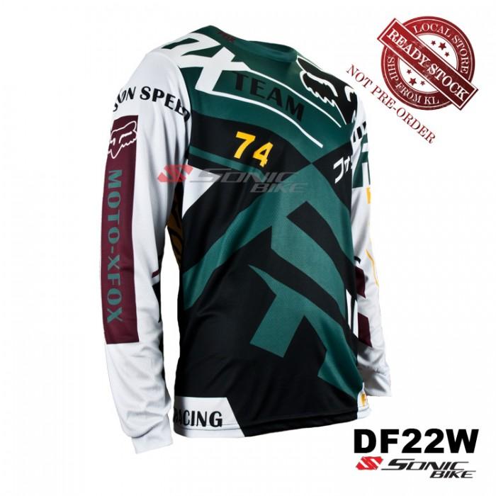 FOX MTB Downhill Cycling Jersey   Motocross - DF22W 12baf51e6