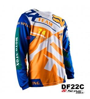 FOX MTB Downhill Cycling Jersey / Motocross - DF22C