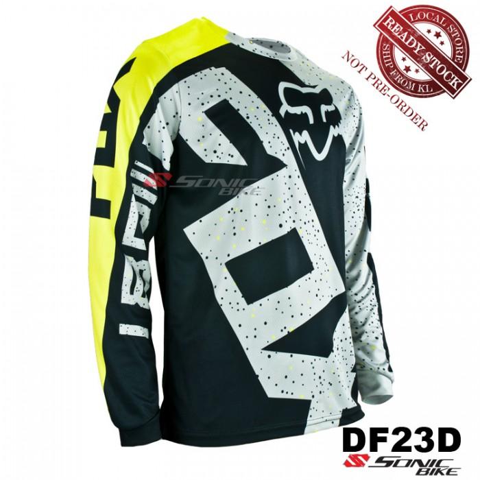 FOX MTB Downhill Cycling Jersey   Motocross - DF23D 339b0023d