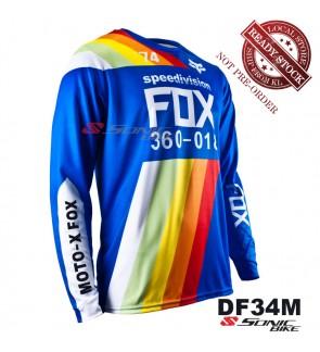 FOX MTB Downhill Cycling Jersey / Motocross - DF34M