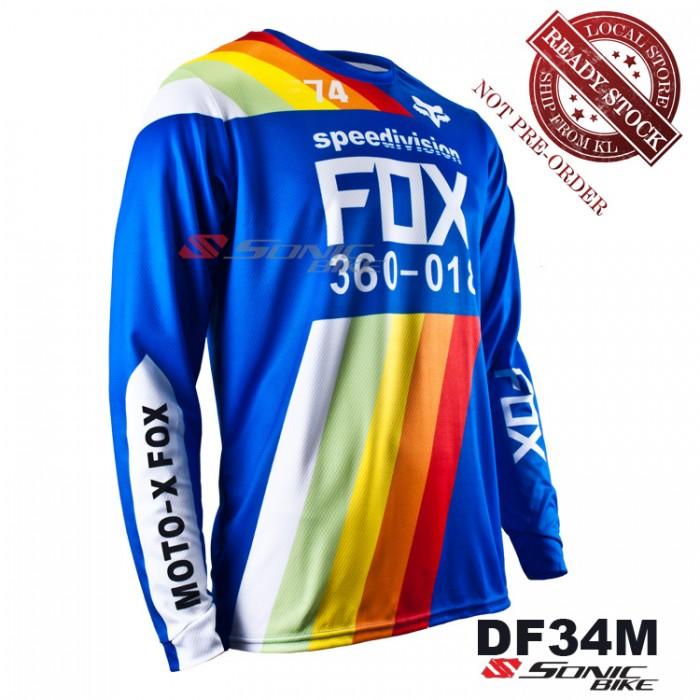 FOX MTB Downhill Cycling Jersey   Motocross - DF34M f6b30c48f