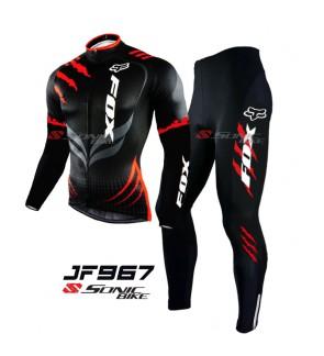 FOX Long Sleeve Cycling Jersey / Cycling Long Pant - JF967
