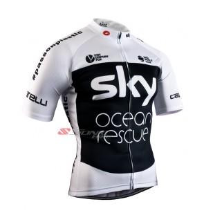 Sky / Cycling Jersey / Cycling Wear - JS815