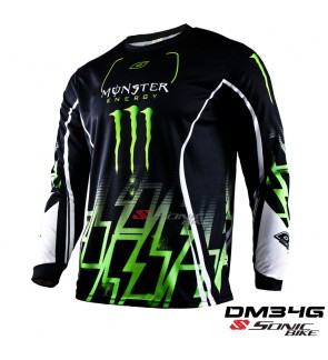 MONSTER MTB Downhill Cycling Jersey / Motocross - DM34G