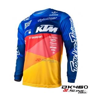 KTM TroyLee MTB Downhill Cycling jersey  / Motocross / DK46O