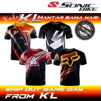 READY STOCK [FREE RETURN] GP Jersey / MTB Jersey / Downhill Jersey / Cycling jersey  / Motorcycle Jersey / T2