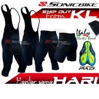 READY STOCK Sonicbike Premium Cycling Pant / Bib Short / 3/4 Bib / BV