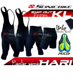 READY STOCK [FREE EXCHANGE] Sonicbike Premium Cycling Pant / Bib Short / 3/4 Bib / BV
