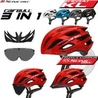 Cairbull Spark Cycling Helmet 3 in 1 Roadbike MTB  Aero Helmet / CB10