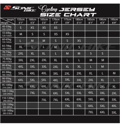 Sonicbike Cycling Jersey / Cycling Wear – SB49