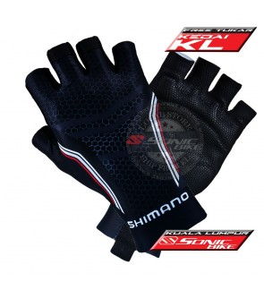 Ready Stock Cycling Glove / Fitness Half Finger Padded Glove - G SHI