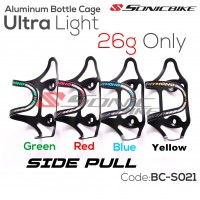 READY STOCK / ALLOY CYCLING BOTTLE CAGE / SIDE PULL BOTTLE CAGE / BICYCLE BOTTLE CAGE / BCS02