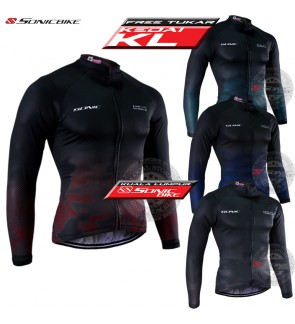 READY STOCK [ FREE RETURN ] Long Sleeve Cycling Jersey / Cycling Wear / SL9