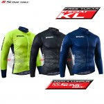 READY STOCK [ FREE RETURN ] Long Sleeve Cycling Jersey / Cycling Wear / TV9