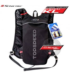 READY STOCK ! Outdoor Hydration Bag / Running Vest Pack / Hiking Pack / Water Bladder Bag - Top speed