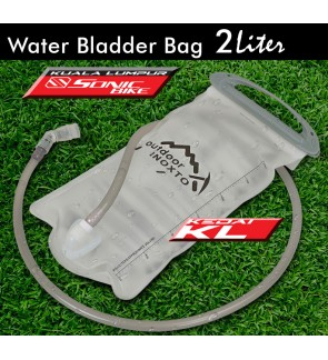 Ready Stock 2.0L Hydration Water Bladder Bag Beg Air For Running Outdoor Hiking Sports - Water bag