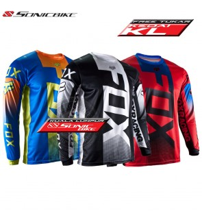 Ship From KL [FREE RETURN] FOX Jersey / MTB Jersey / Downhill Jersey / Cycling jersey  / Motorcycle Jersey / DF21